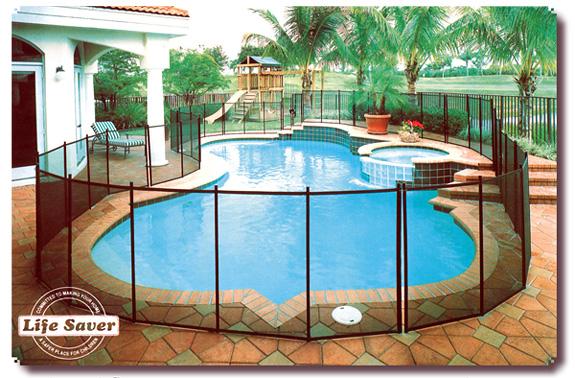 Safety Gates Around Pool Area